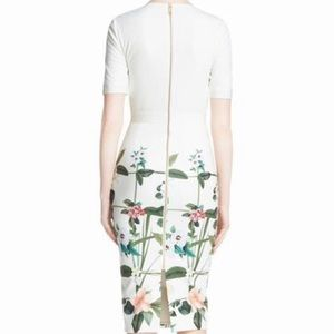 Ted Baker London Dresses - Ted Baker London Tahlor Floral Print Midi